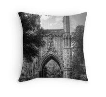 Chapel - All Saints Cemetery   Throw Pillow