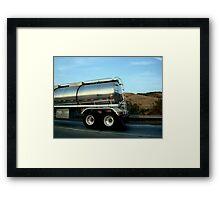 Truck snapshot - CA, USA Framed Print