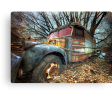 The Wheels on the Bus... Canvas Print