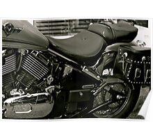 Vintage Kawasaki Poster