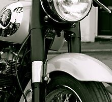 Vintage BSA by Lou Wilson