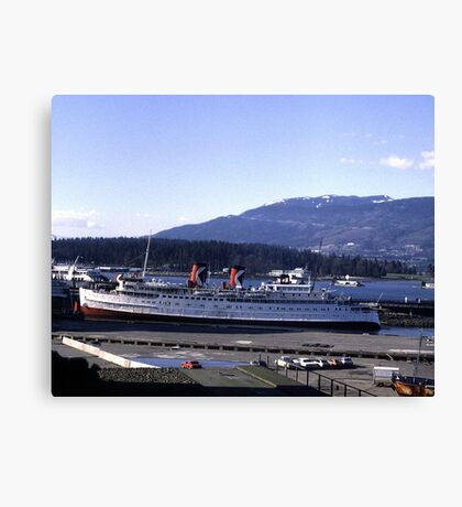 The Princess Patricia in Vancouver Canvas Print