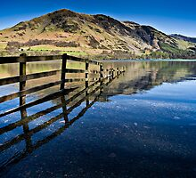 Buttermere Fell, Cumbria. uk by David Lewins