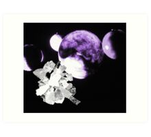 04-16-11:  Dilithium Crystals Art Print