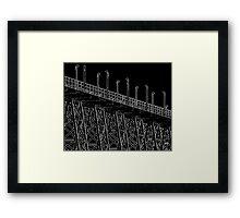 Ore Trestle Framed Print