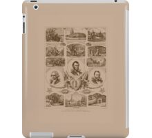 Chain of events in American History iPad Case/Skin