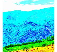 Blue Mountain Photographic Print