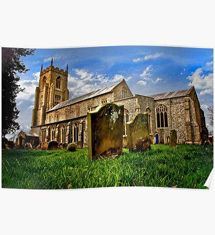 An English Country Church? Poster