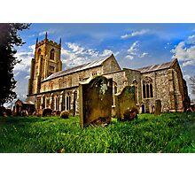 An English Country Church? Photographic Print