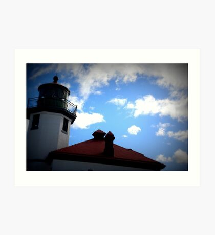 Lomography Lighthouse! Art Print