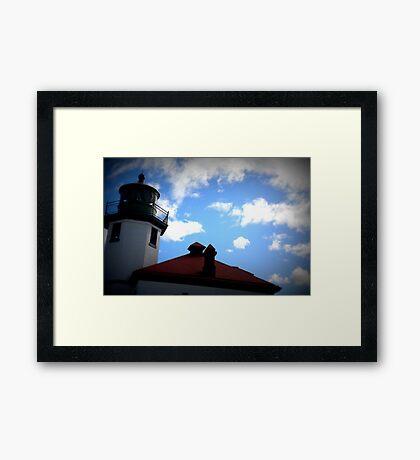 Lomography Lighthouse! Framed Print