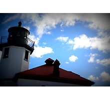 Lomography Lighthouse! Photographic Print