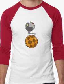 Dr.Eggman Robo Wrecking Ball Men's Baseball ¾ T-Shirt