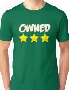 Triple Star: Owned Unisex T-Shirt