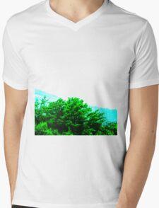 Through the Trees Mens V-Neck T-Shirt