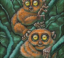 Tarsiers by squan