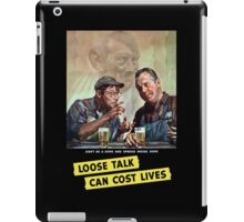 Don't Be A Dope And Spread Inside Dope - WWII iPad Case/Skin