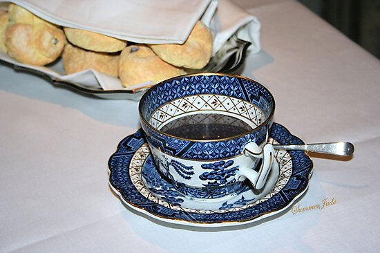Mrs. du Pont's Morning Coffee by SummerJade