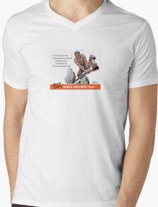 Don't Be A Dope -- WWII Mens V-Neck T-Shirt