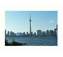 The CN tower in Toronto Art Print