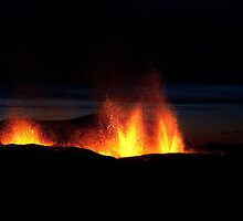 Volcano Eruption in Iceland 2010 by Agnar Danielsson