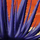 Blue Agave Paint by KathiSPerez