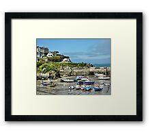 Newquay Cornwall Framed Print