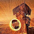 Gayundah Ablaze - Woody Point Qld by Beth  Wode