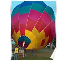 Hot Air Balloon 8 Poster