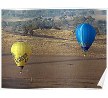 Hot Air Balloon 12 Poster