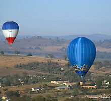Hot Air Balloon 14 by Stephen Scott-Robertson