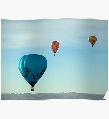 Hot Air Balloon 17 Poster