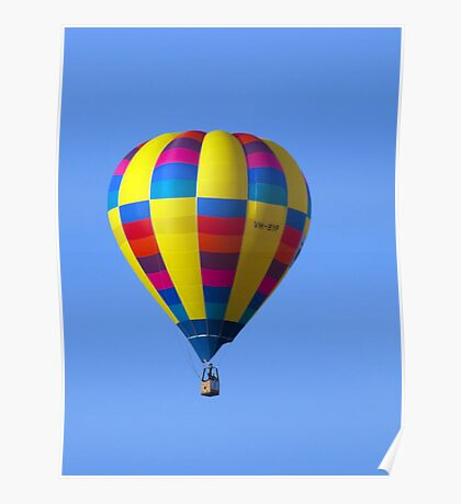 Hot Air Balloon 19 Poster