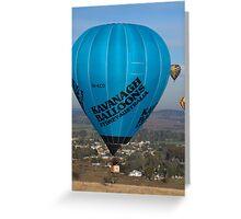 Hot Air Balloon 24 Greeting Card