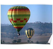 Hot Air Balloon 25 Poster