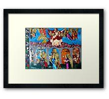 Angels and Faith Framed Print