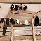 Drying Shoes by KLiu