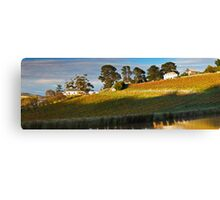 Tinderbox Vineyard in Autumn Canvas Print