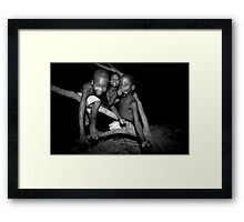 The Joy Of Youth Framed Print