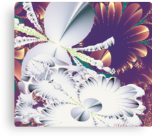 """Fractal Flowers"" Canvas Print"