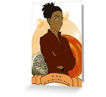 Doctor Who: The girl who walked the Earth - Martha Jones Greeting Card