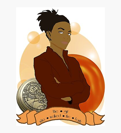 Doctor Who: The girl who walked the Earth - Martha Jones Photographic Print