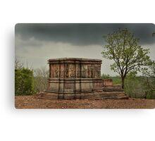historical temple Canvas Print