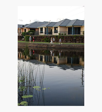 Reflecting on Suburbia Photographic Print
