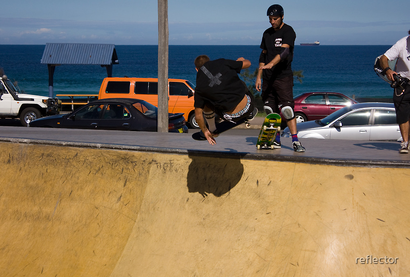Cracking A Frontside Ollie by reflector