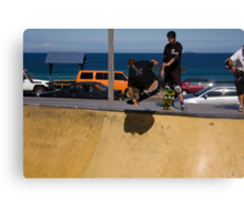 Cracking A Frontside Ollie Canvas Print
