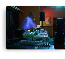 Ghost DJ Canvas Print