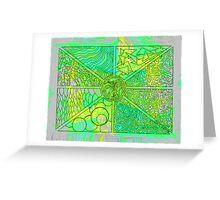 Convergence Greeting Card
