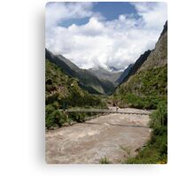 Inca Bridge Canvas Print