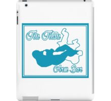 Jiu Jitsu Arm Bar Blue  iPad Case/Skin